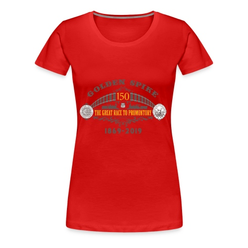 Golden Spike Version 1 - Women's Premium T-Shirt