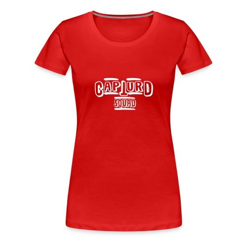 Capturd White - Women's Premium T-Shirt