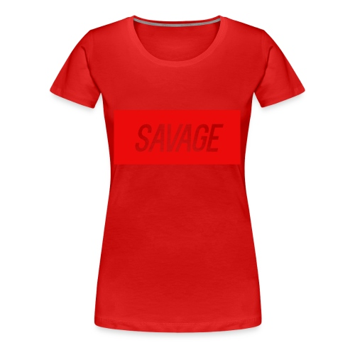 savage.pnggggggggggggg - Women's Premium T-Shirt