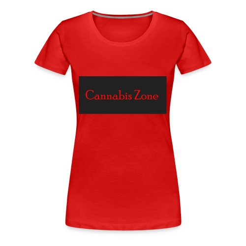 Cannabis Zone - Women's Premium T-Shirt