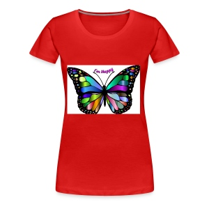 Happy Butterfly - Women's Premium T-Shirt