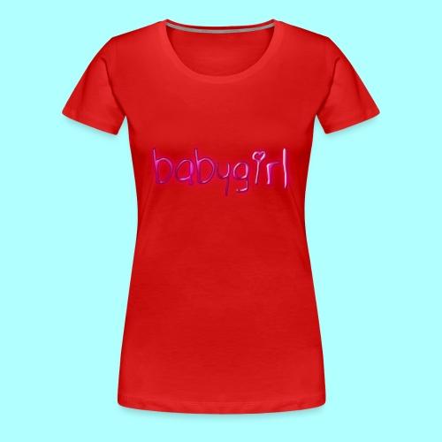 babygirl - Women's Premium T-Shirt