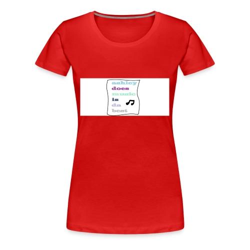 who likes this - Women's Premium T-Shirt