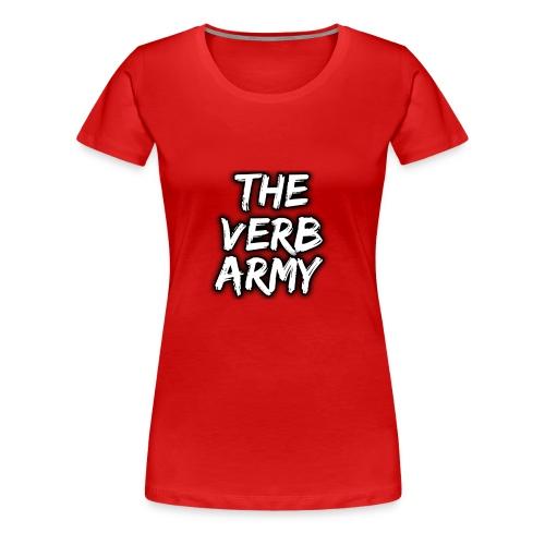 The Verb Army - Women's Premium T-Shirt