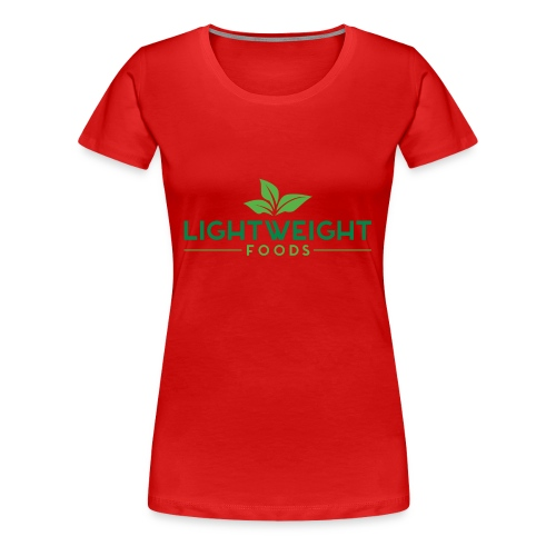 Lightweight Foods Lifestyle Baseball Tee - Women's Premium T-Shirt