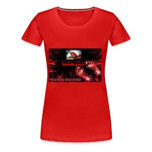 Isaiah 41:13 crucify my flesh - Women's Premium T-Shirt