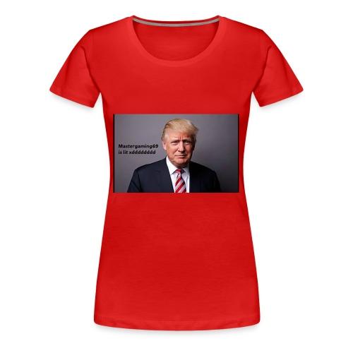 Mastergaming69 is Lit xdddddddddd - Women's Premium T-Shirt