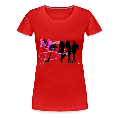 CRAVUS MELANIN BEAUTIES 22 - Women's Premium T-Shirt