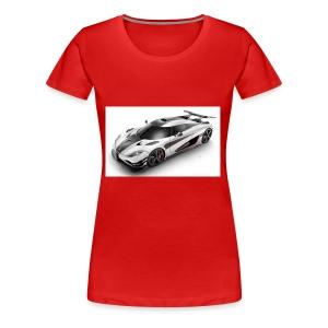 koenigsegg cars - Women's Premium T-Shirt