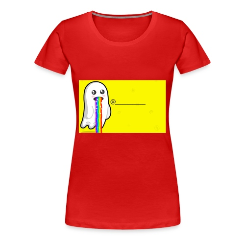 Snapchat - Women's Premium T-Shirt