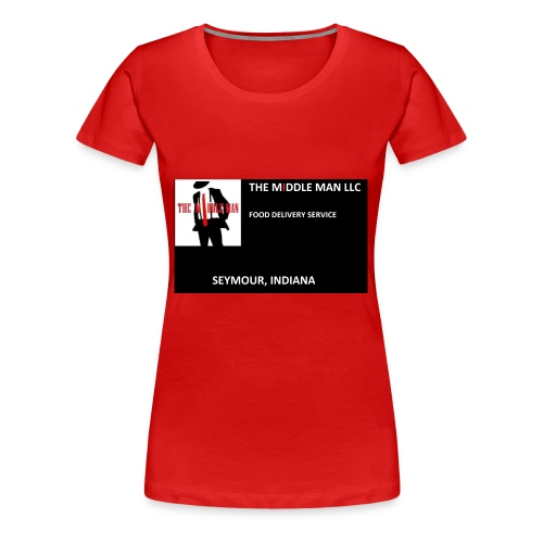 The Middle Man FDS Logo - Women's Premium T-Shirt
