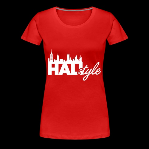 HALIStyle City Skyline - Women's Premium T-Shirt