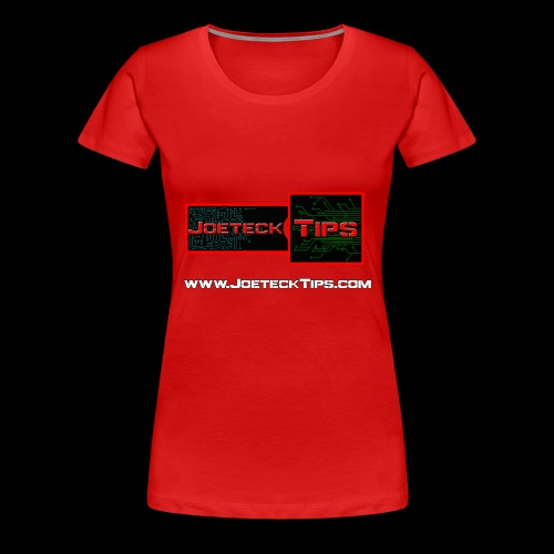 JoeteckTips - Women's Premium T-Shirt
