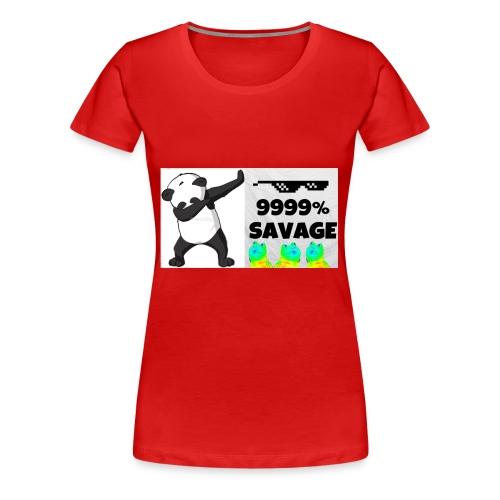 savage bra - Women's Premium T-Shirt