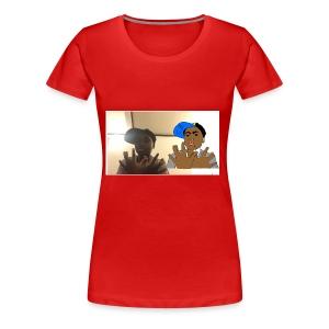 Cheick Zeba - Women's Premium T-Shirt