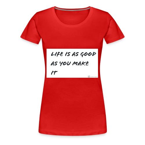 Saying - Women's Premium T-Shirt