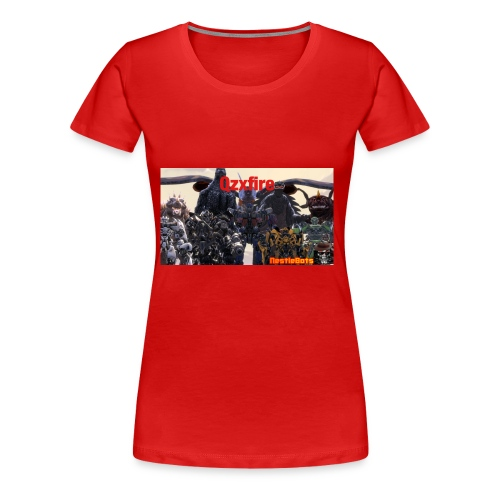 Qzxfire - Women's Premium T-Shirt