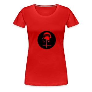 Avery Gaming Gun Splatter - Women's Premium T-Shirt