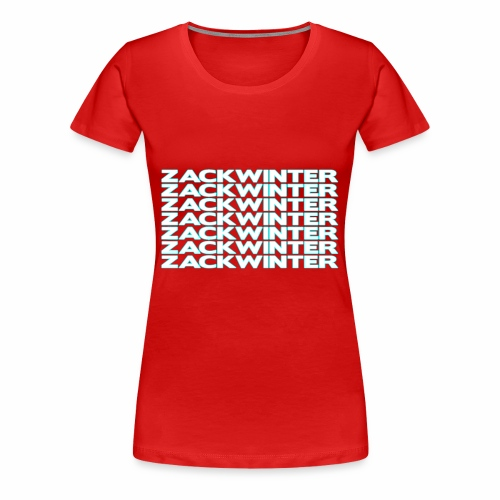 zackwinter - Women's Premium T-Shirt