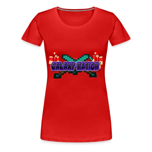 Galaxy Logo 1 - Women's Premium T-Shirt