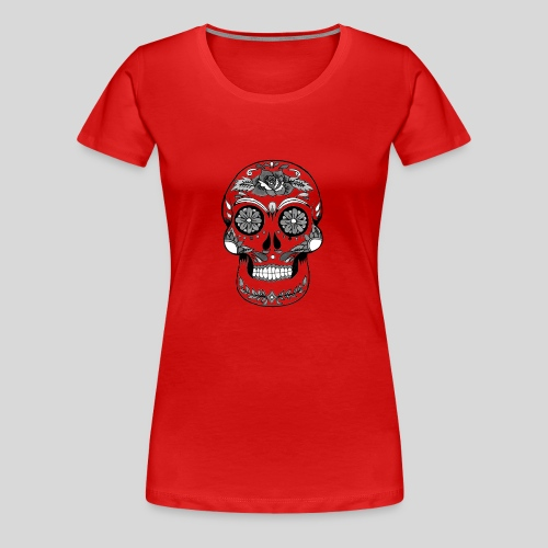 Catrina Black & White - Women's Premium T-Shirt