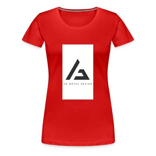 AQFAGamer logo - Women's Premium T-Shirt