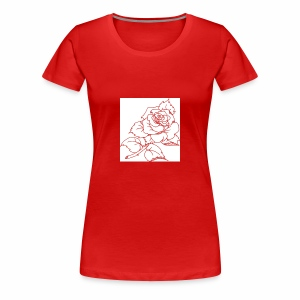 flor - Women's Premium T-Shirt