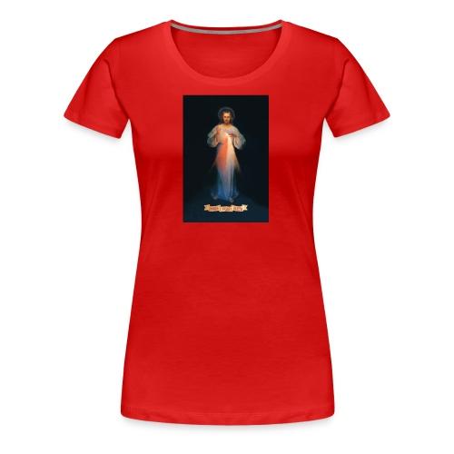 Divine Mercy - Women's Premium T-Shirt
