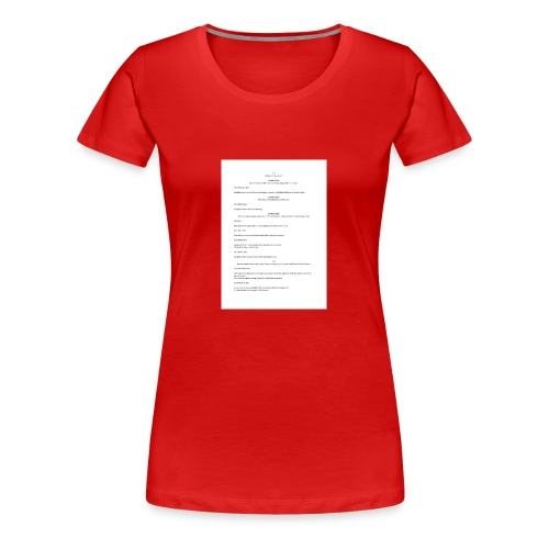 Play with a spy - Women's Premium T-Shirt