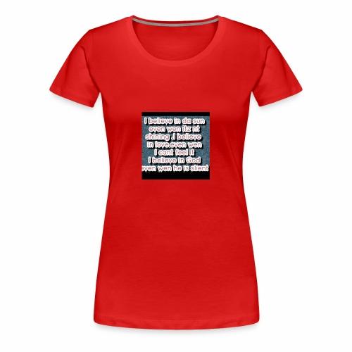 Endy 20160611 233858 - Women's Premium T-Shirt