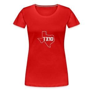 TEXAS 10 by FinksMethod - Women's Premium T-Shirt
