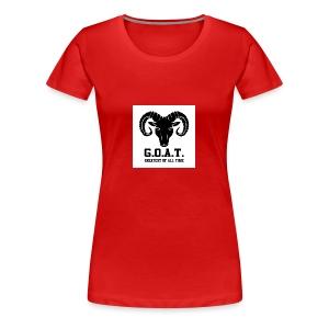 The goat 🐐 - Women's Premium T-Shirt