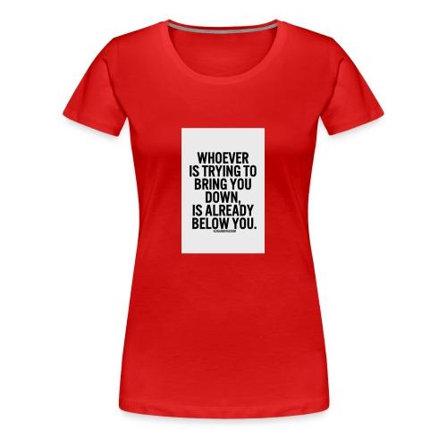 0F9CA118 D431 4E17 9EF2 D79FDD78B425 - Women's Premium T-Shirt