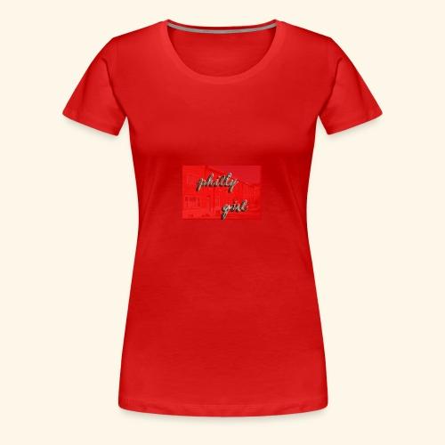 phillygirlredrow - Women's Premium T-Shirt