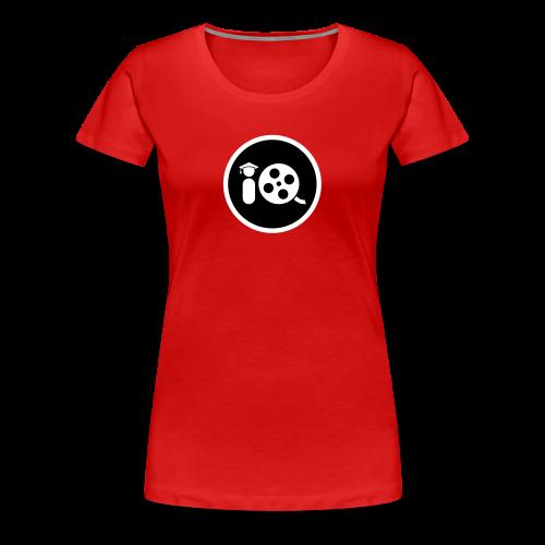 Filmmaker IQ Black Emblem - Women's Premium T-Shirt