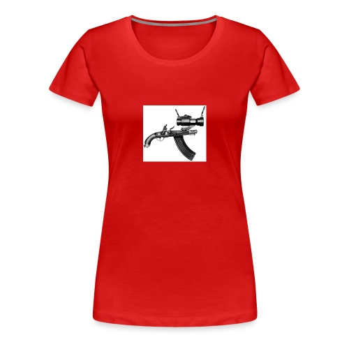 Ugly Gun - Women's Premium T-Shirt