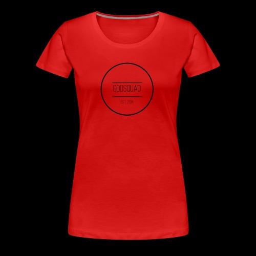 Large GodSquad Original Logo - Women's Premium T-Shirt