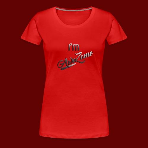 I'm AweZome - Women's Premium T-Shirt