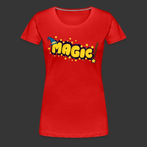 MAGIC - Women's Premium T-Shirt