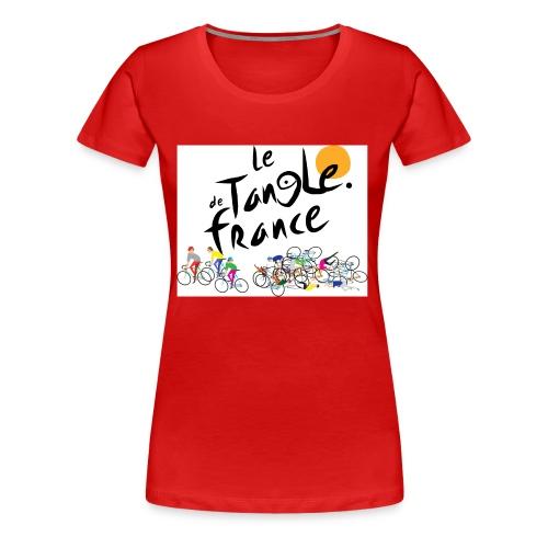 Le Tangle de France - Women's Premium T-Shirt