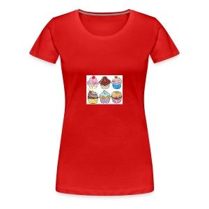 cupcakes - Women's Premium T-Shirt