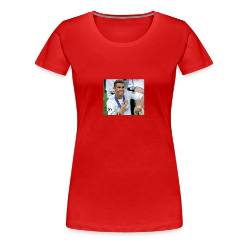 Cristiano Ronaldo - Women's Premium T-Shirt