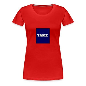 TAME Blue - Women's Premium T-Shirt