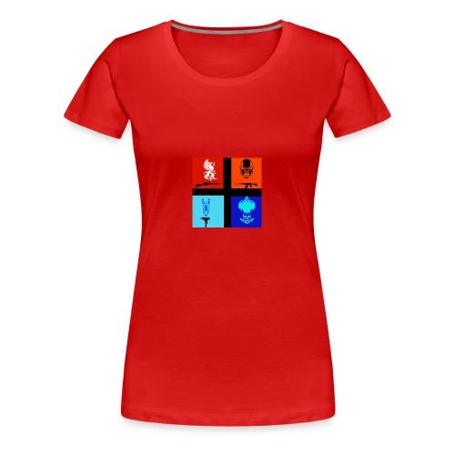 NitrosNaniacs logo - Women's Premium T-Shirt