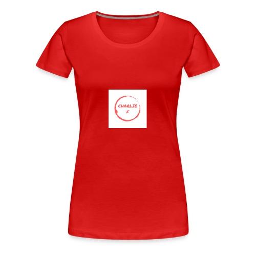 CHARLIE F - Women's Premium T-Shirt