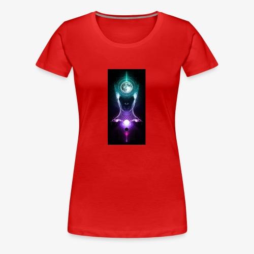 full moon - Women's Premium T-Shirt
