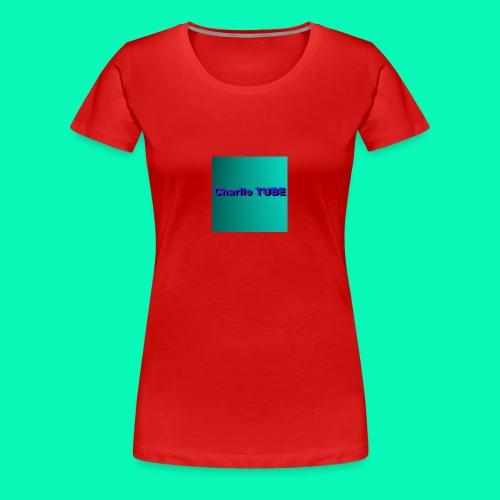Charlie TUBE - Women's Premium T-Shirt