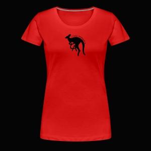 Chris awesome kangaroo - Women's Premium T-Shirt