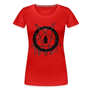 MJT logo Lg Center - Women's Premium T-Shirt
