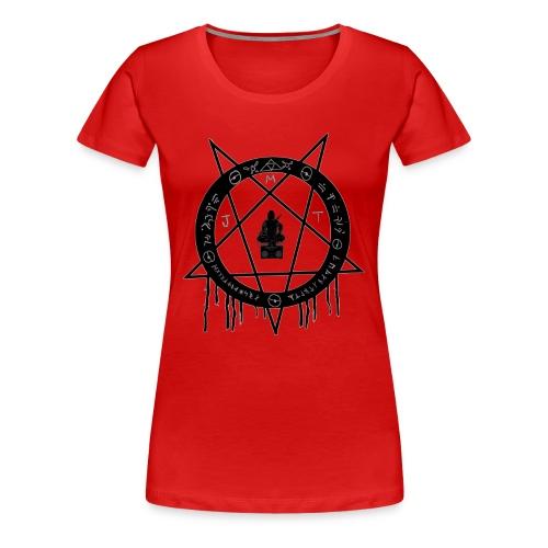 MJT logo Lg Center - Women's Premium T-Shirt